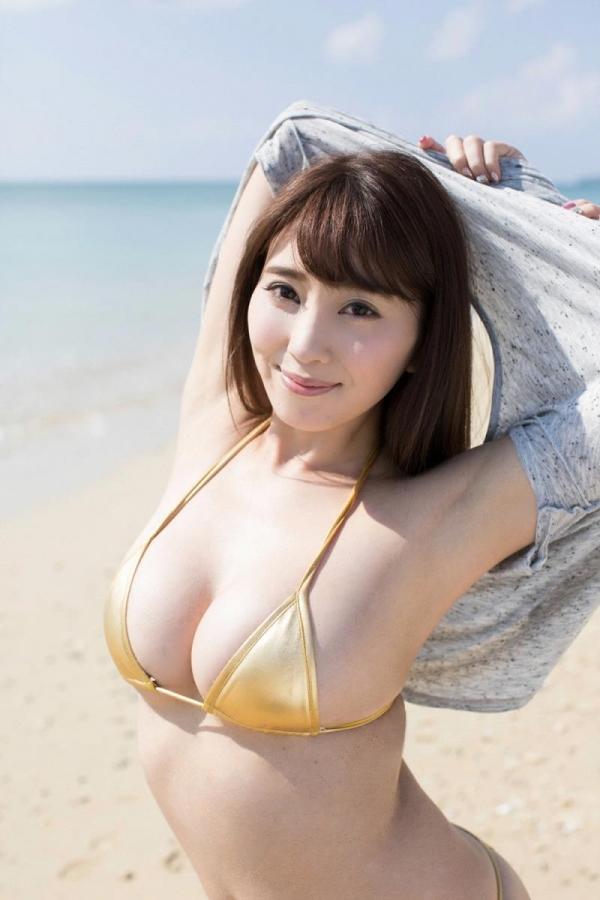 森咲智美 巨乳のエロすぎるグラドル水着画像100枚の026枚目