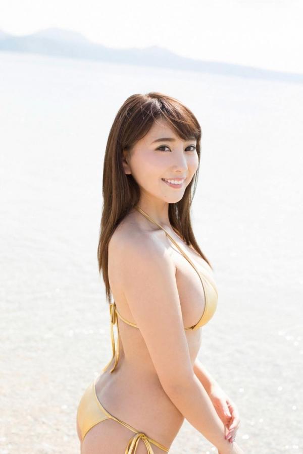 森咲智美 巨乳のエロすぎるグラドル水着画像100枚の032枚目