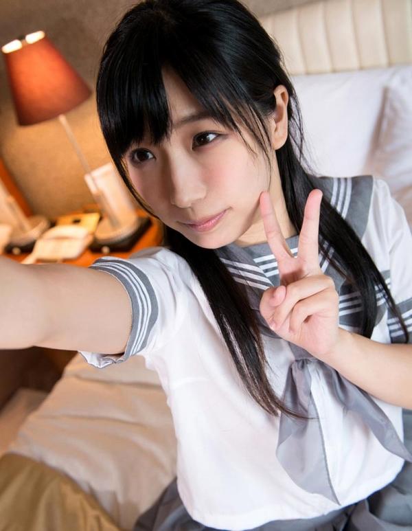 永井みひな 女子校生コスプレ制服エロ画像64枚のa015枚目