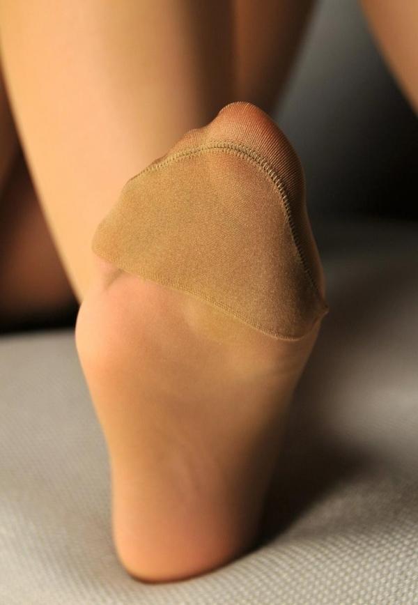 パンストつま先画像 美女の艶っぽい足先足裏60枚の12枚目