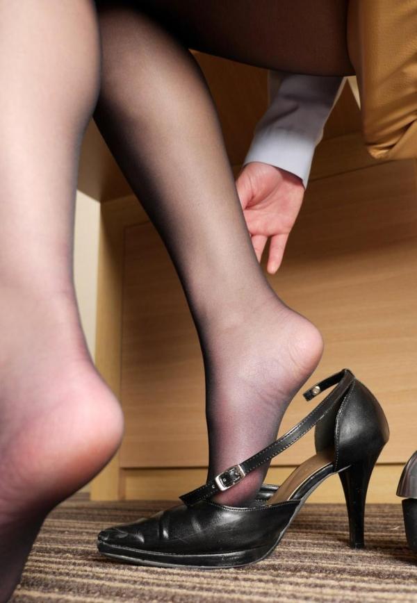 パンストつま先画像 美女の艶っぽい足先足裏60枚の16枚目