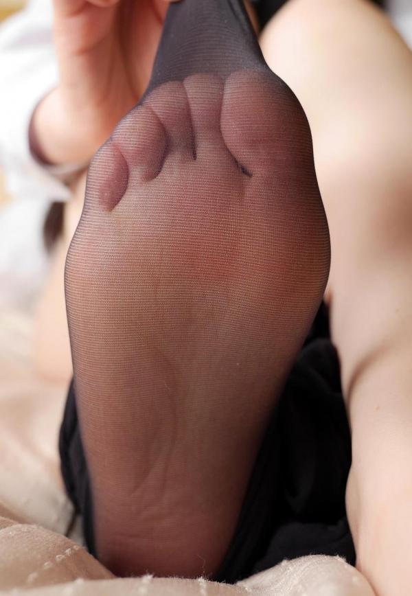 パンストつま先画像 美女の艶っぽい足先足裏60枚の20枚目
