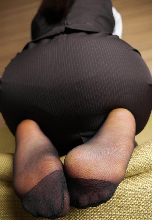 パンストつま先画像 美女の艶っぽい足先足裏60枚の27枚目