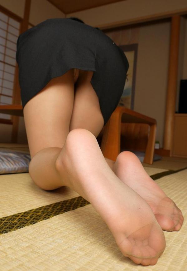 パンストつま先画像 美女の艶っぽい足先足裏60枚の30枚目