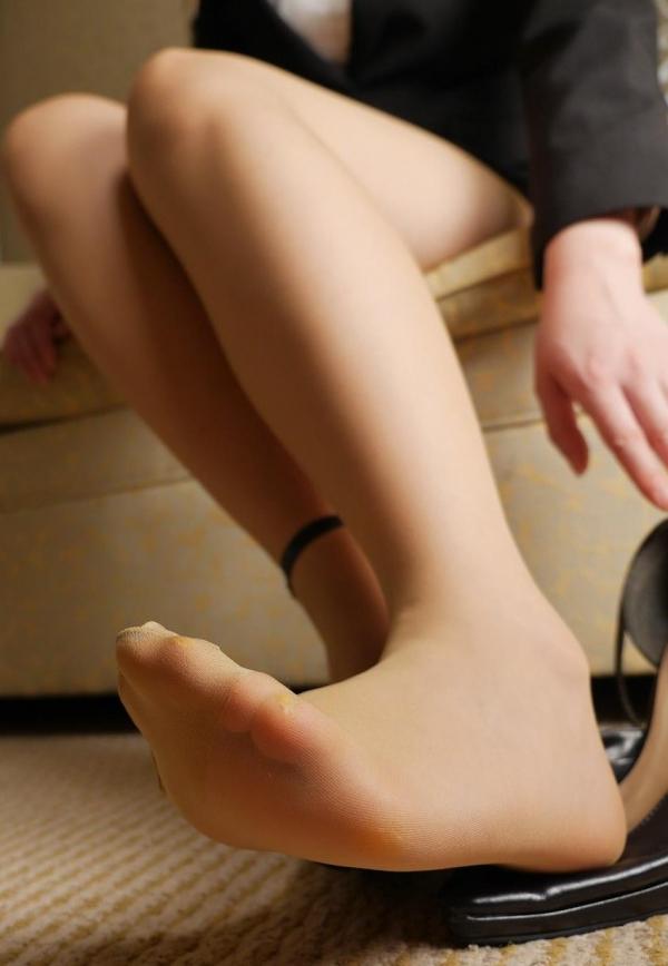 パンストつま先画像 美女の艶っぽい足先足裏60枚の32枚目