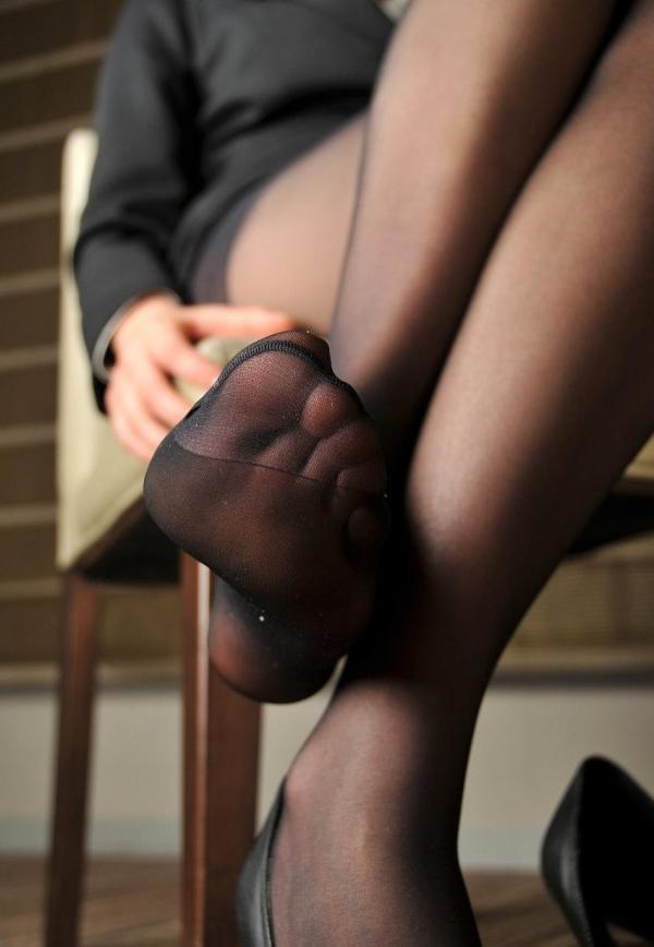 パンストつま先画像 美女の艶っぽい足先足裏60枚の34枚目