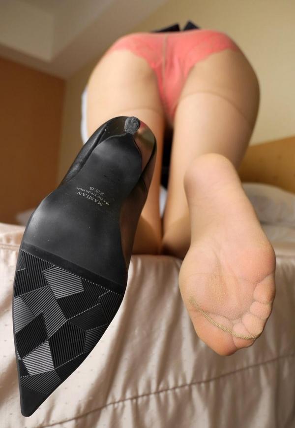 パンストつま先画像 美女の艶っぽい足先足裏60枚の59枚目