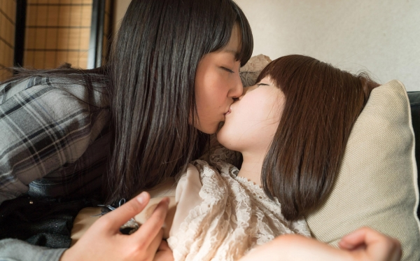 レズビアン画像 女の同性愛 百合プレイ100枚の019番