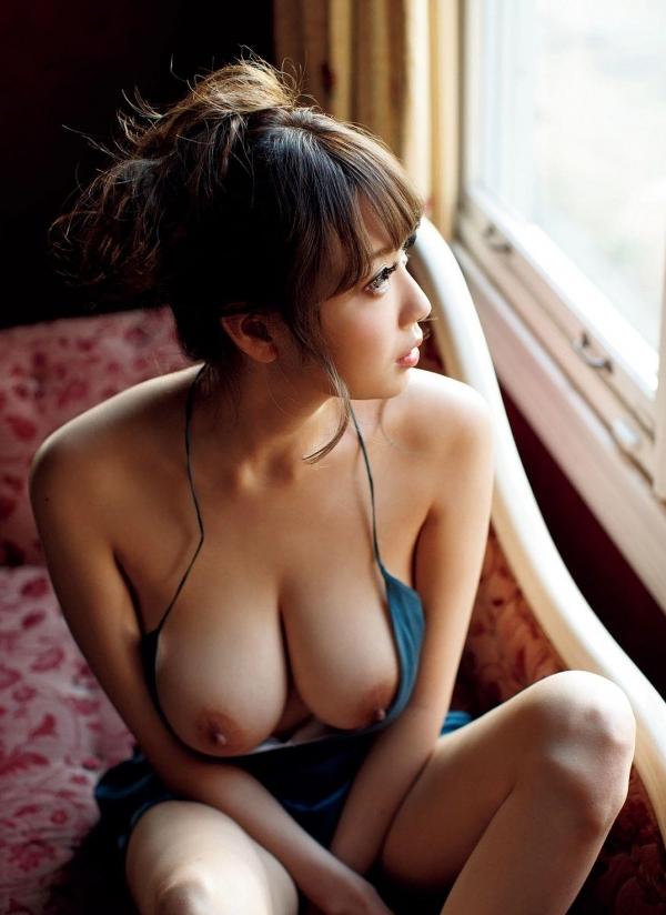 RIONヌード画像 Jカップ神乳84枚のb007番