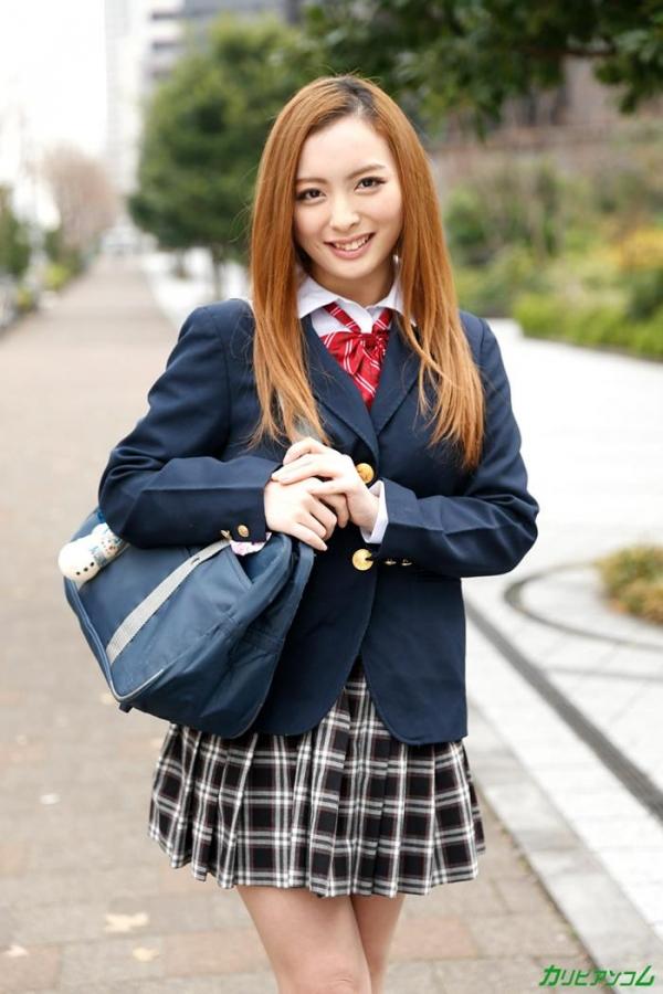 美人でスレンダー美乳 咲乃柑菜の無修正「マンコ図鑑」エロ画像42枚のc003枚目