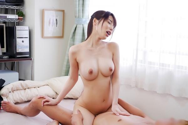 桜井彩 スレンダー美巨乳美女のセックス画像88枚の1