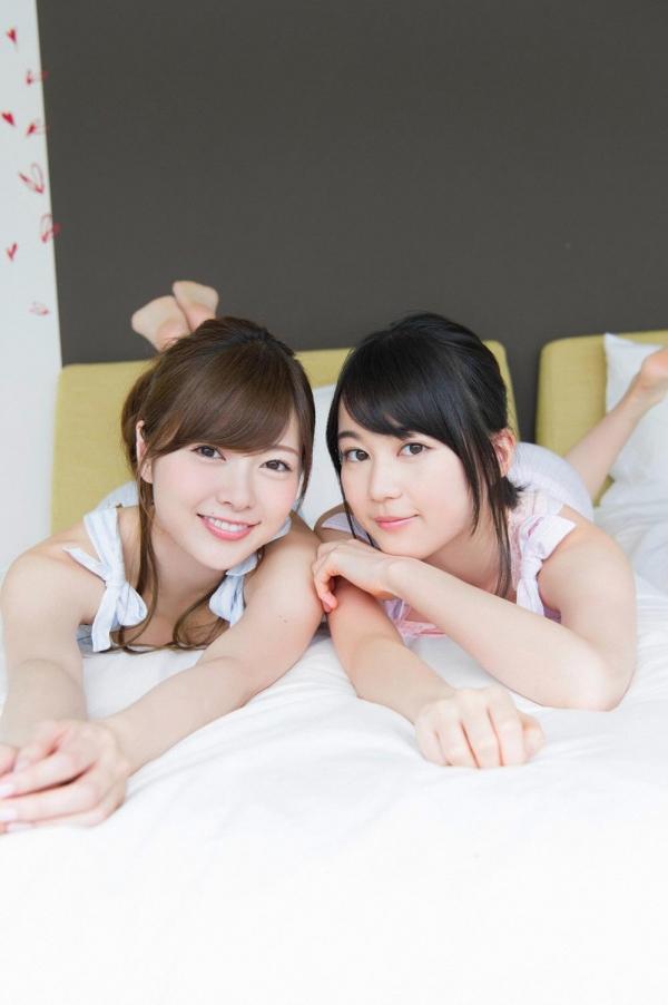 白石麻衣の水着姿と生田絵梨花いくまい仲良しツーショット画像50枚の410番