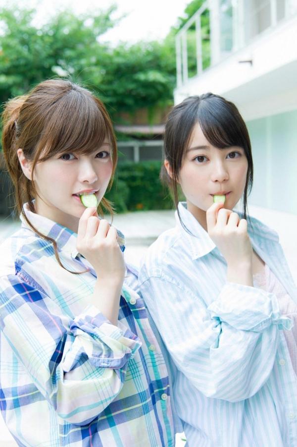 白石麻衣の水着姿と生田絵梨花いくまい仲良しツーショット画像50枚の424番