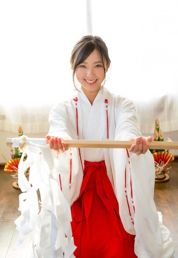 竹田ゆめ かわいい巫女さん清純美少女ヌード画像のa003番