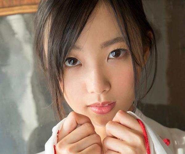 竹田ゆめ かわいい巫女さん清純美少女ヌード画像の001