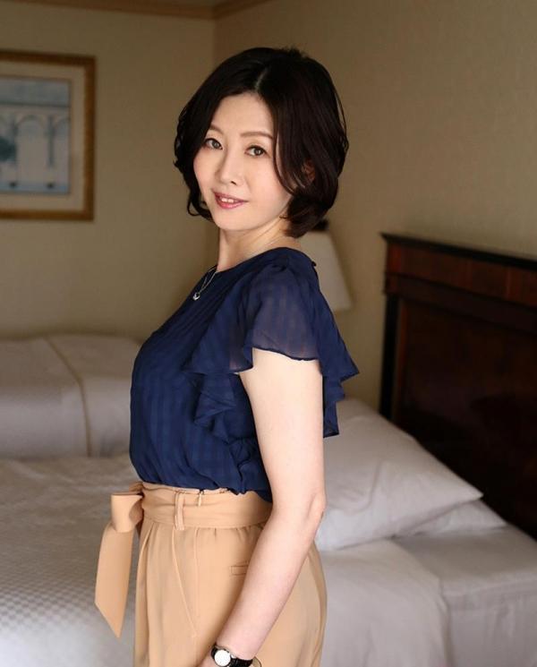 アラフィフ美熟女 竹内梨恵(水谷春菜) 綺麗なおばさんエロ画像77枚のa01枚目