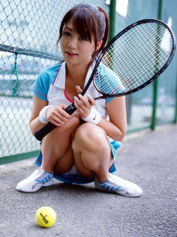 テニスウェアのエロ画像 Hな部活系コスの定番50枚の008枚目