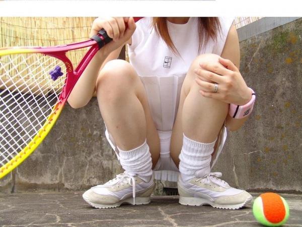 テニスウェアのエロ画像 Hな部活系コスの定番50枚の043枚目