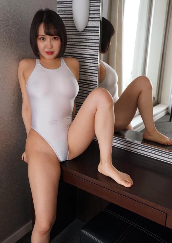 爆乳むっちり 月本愛 透け水着ヌード画像100枚の006枚目