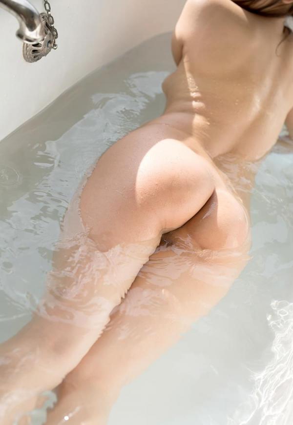 むっちりボディ 羽咲みはる 全裸で入浴中のエロ画像64枚のb008枚目