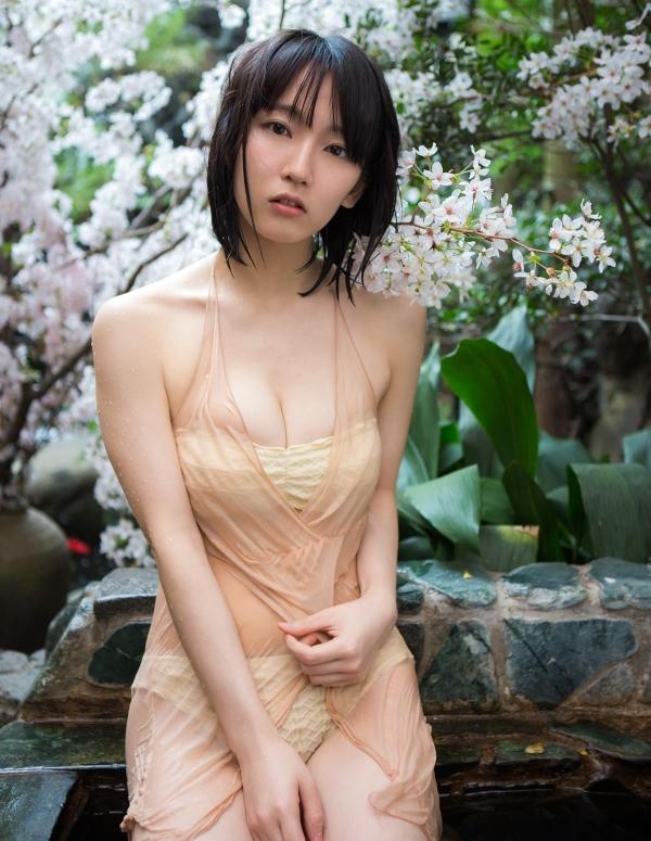 吉岡里帆(よしおかりほ)水着画像058