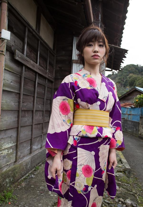 浴衣エロ画像 艶やかな和服美女のヌード100枚の012枚目