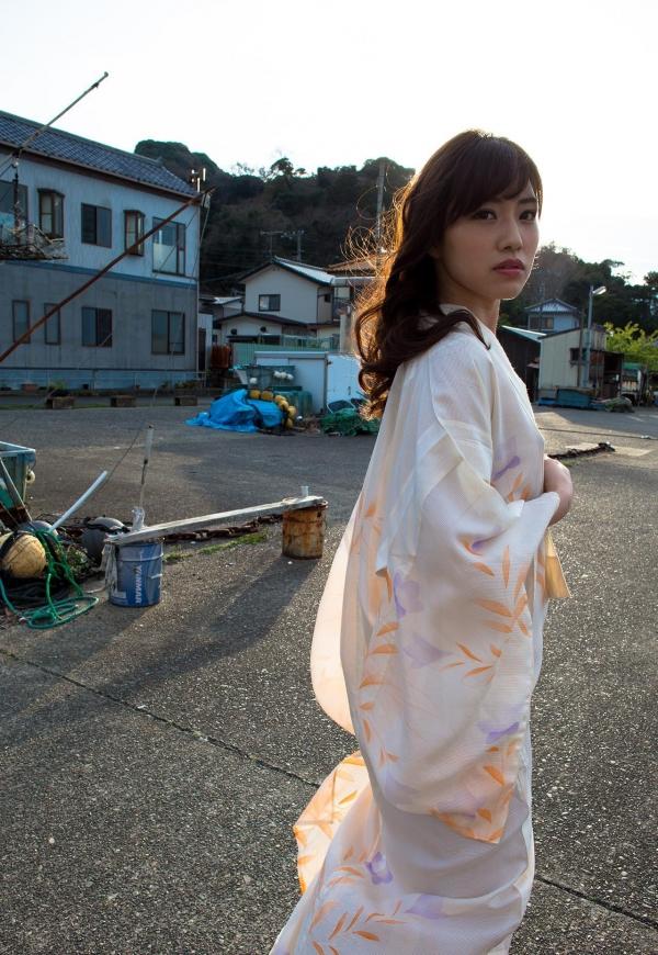 浴衣エロ画像 艶やかな和服美女のヌード100枚の039枚目