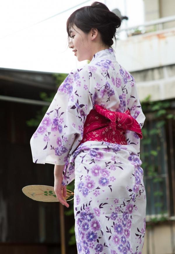 浴衣エロ画像 艶やかな和服美女のヌード100枚の042枚目