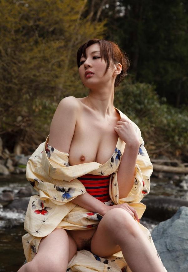 浴衣エロ画像 艶やかな和服美女のヌード100枚の070枚目