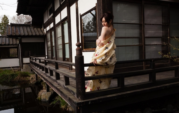 浴衣エロ画像 艶やかな和服美女のヌード100枚の072枚目