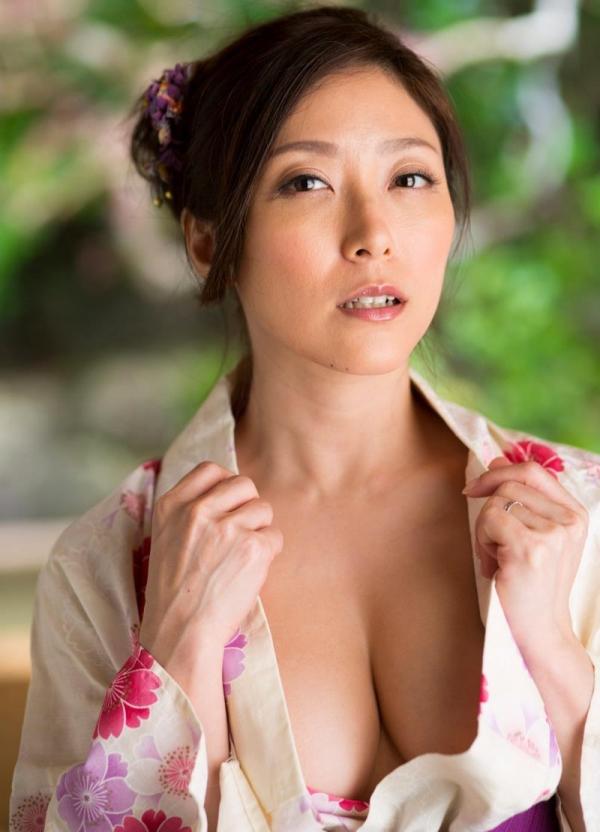 妖艶な熟女のしっとり浴衣姿 白木優子ヌード画像67枚の009枚目