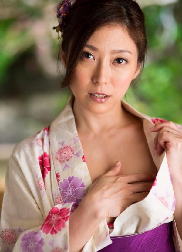 妖艶な熟女のしっとり浴衣姿 白木優子ヌード画像67枚の010枚目