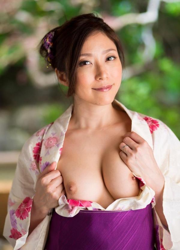 妖艶な熟女のしっとり浴衣姿 白木優子ヌード画像67枚の011枚目