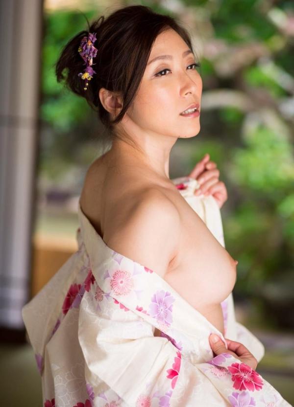 妖艶な熟女のしっとり浴衣姿 白木優子ヌード画像67枚の021枚目