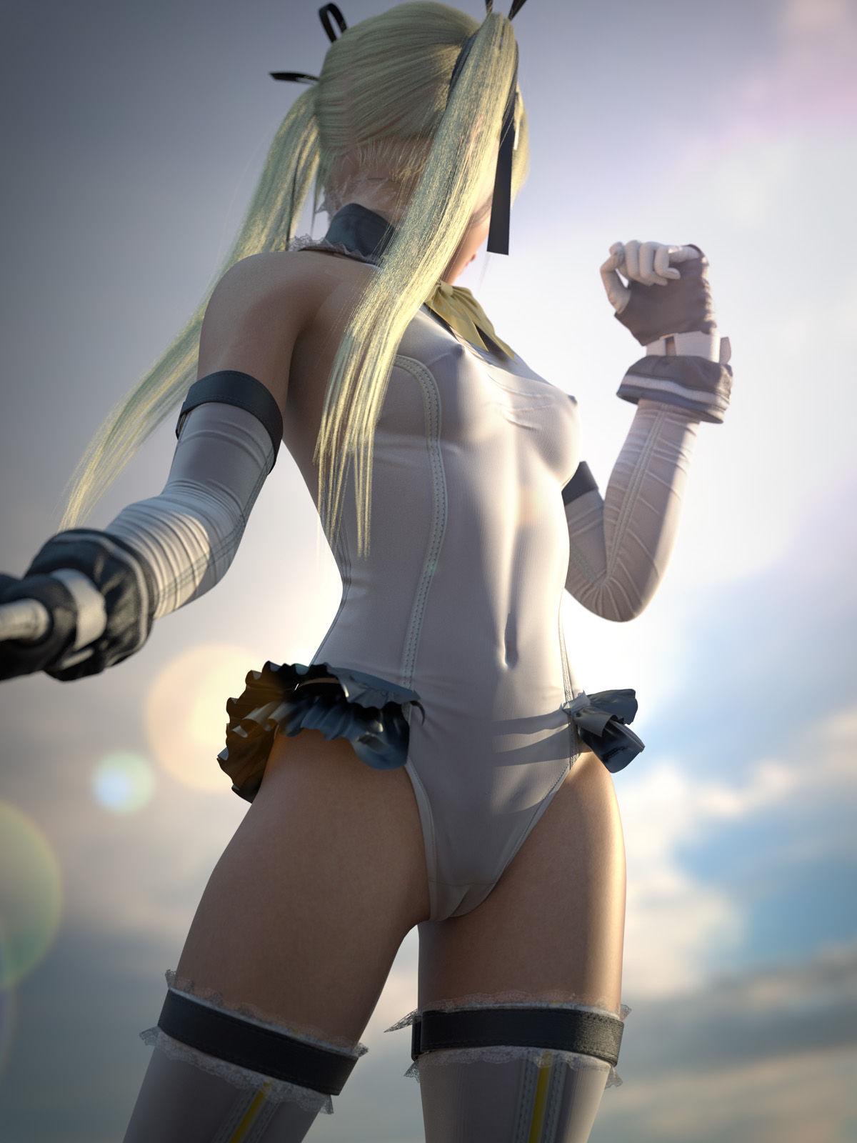 3DCG マリー・ローズ