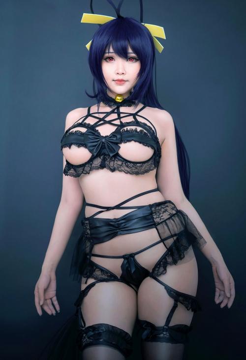 Hana Bunny 巨乳コスプレイヤー 30