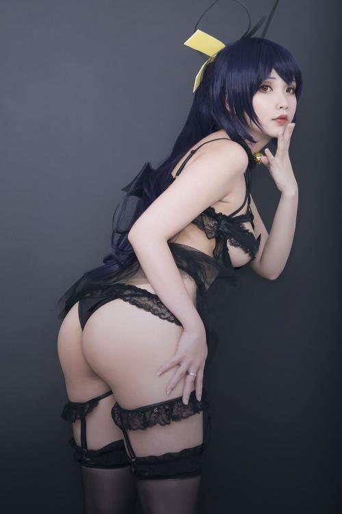 Hana Bunny 巨乳コスプレイヤー 35