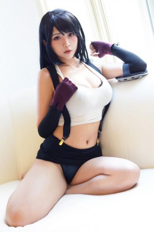 Hana Bunny 巨乳コスプレイヤー 55
