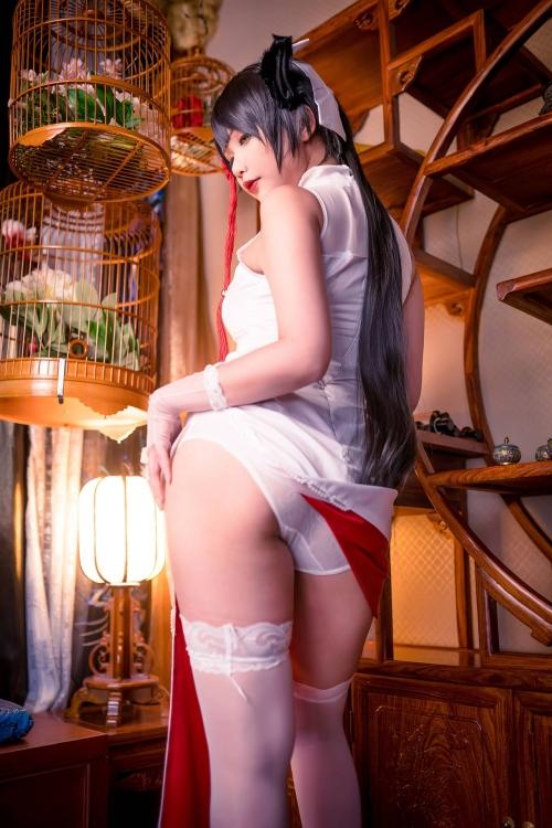 Hana Bunny 巨乳コスプレイヤー 61