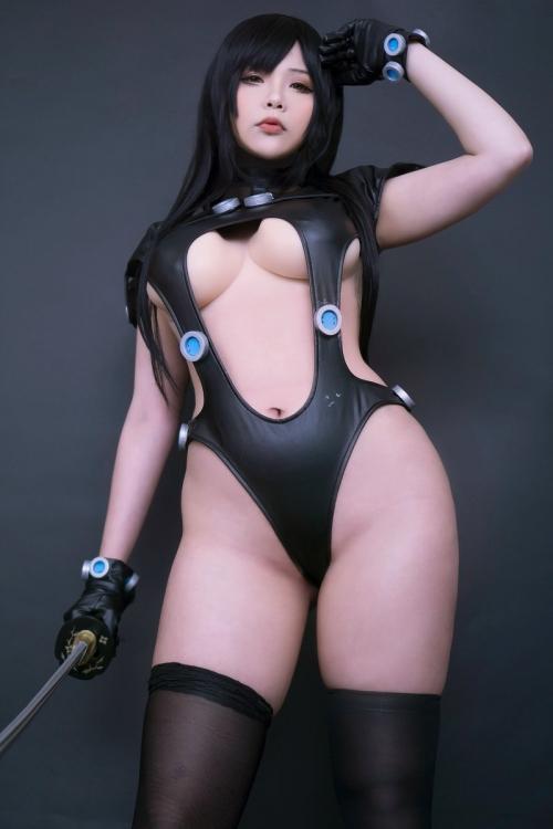 Hana Bunny 巨乳コスプレイヤー 67