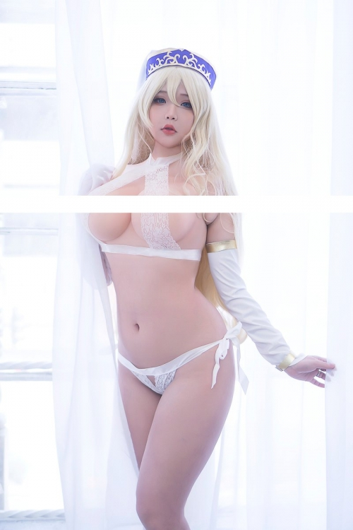 Hana Bunny 巨乳コスプレイヤー 83