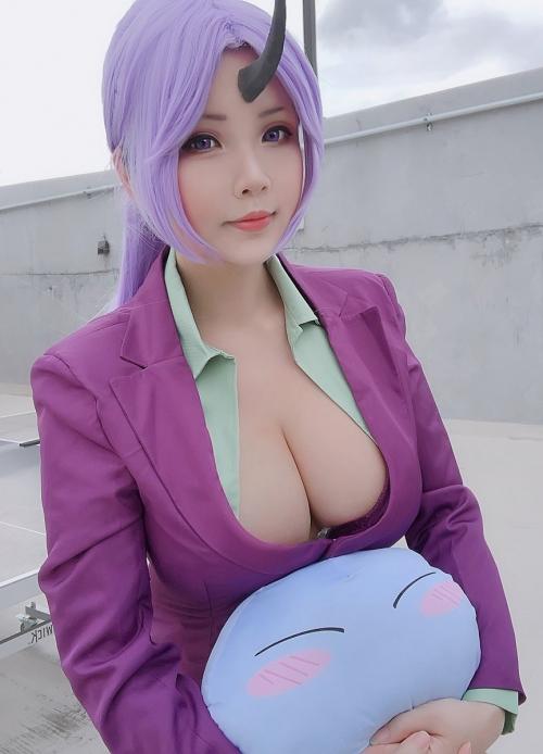 Hana Bunny 巨乳コスプレイヤー 93