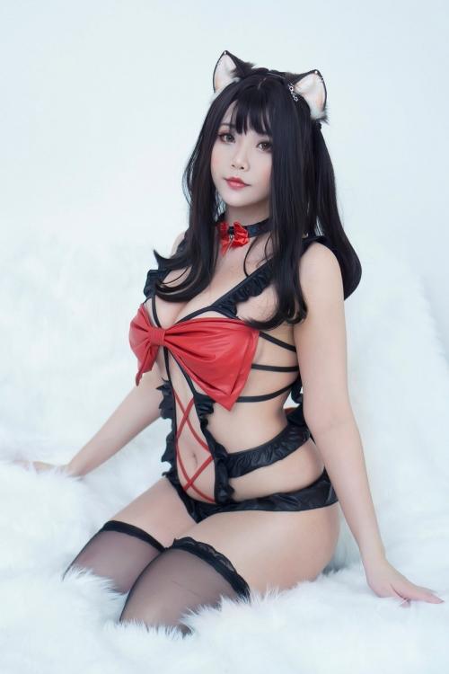 Hana Bunny 巨乳コスプレイヤー 111
