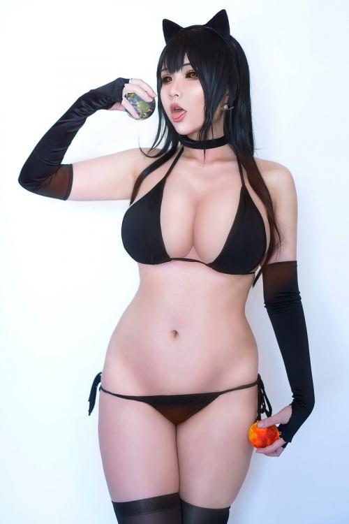 Hana Bunny 巨乳コスプレイヤー 120