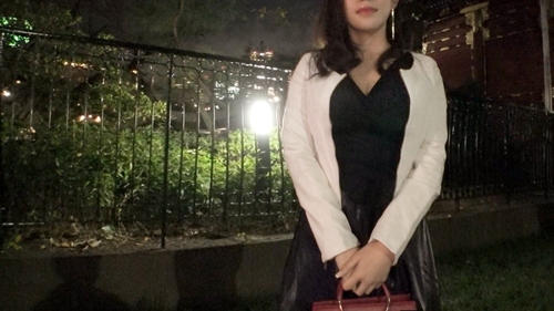 夜の巷を徘徊する〝激レア素人〟!! 33 マリア 25歳 性豪素人セレブ美女 300MIUM-537 永井マリア 01