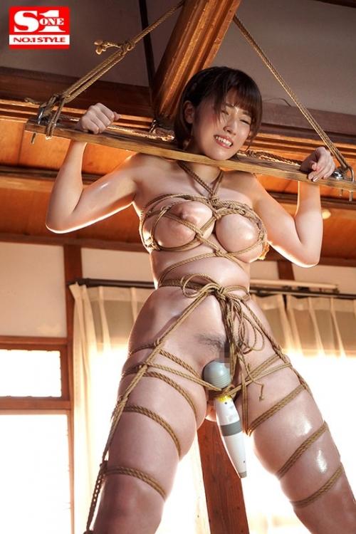 完全緊縛されて無理やり犯されたJカップ女子大生 松本菜奈実 88