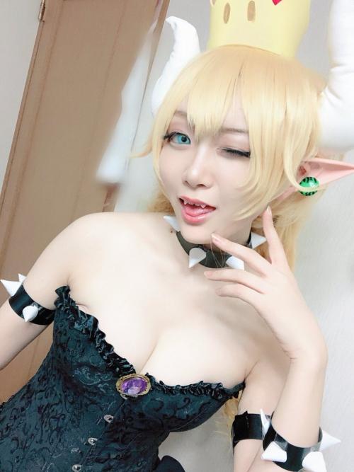 クッパ姫 Bowsette コスプレ 04