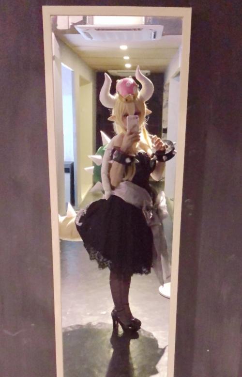 クッパ姫 Bowsette コスプレ 20