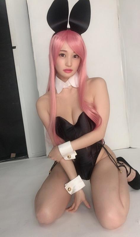 バニーガール コスプレ 04