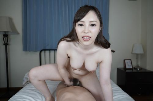 [VR] 裸エプロンで朝から誘惑してくる激カワ俺嫁! 櫻木梨乃 無修正動画 カリビアンコム 78